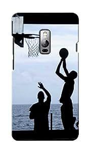 KnapCase Play Basketball Designer 3D Printed Case Cover For OnePlus Two