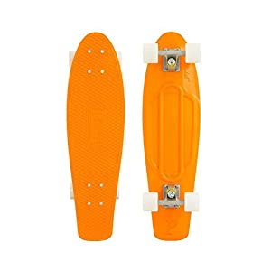 Penny Nickel Complete Skateboard (USA Orange/White)