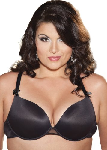 Shirley of Hollywood Women's Plus-Size Hollywood Plus Size Push Up Bra