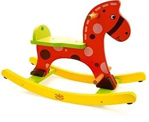 Stomy caballo balancín de VILAC - BebeHogar.com