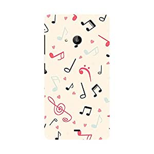 Garmor Designer Silicone Back Cover For Nokia Lumia 535