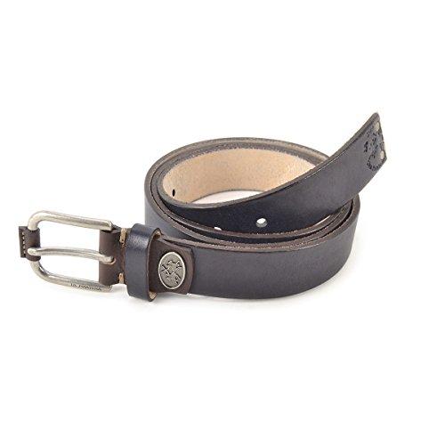 Cintura uomo in pelle La Martina Col. Nero - L53PM023B914999