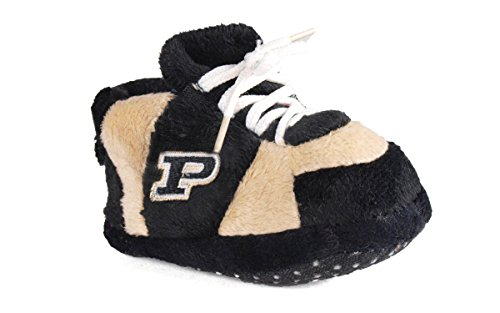 Comfy Feet - PUR03PR - Purdue Boilermakers Baby Slipper - Newborn to 9 Month (Purdue Baby Clothes compare prices)