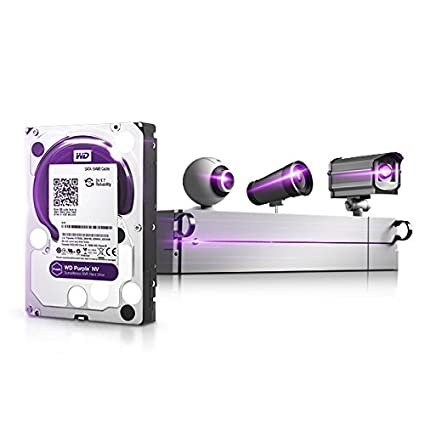 Purple NV (WD6NPURX) 6TB Internal Hard Drive