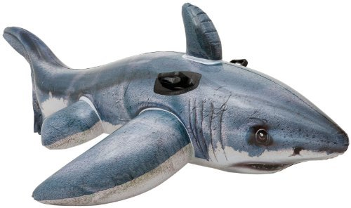 Intex Great White Shark Ride-On, 68