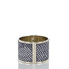 Large Cuff Bracelet<br>Black Seville