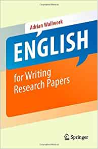 english for writing research papers wallwork