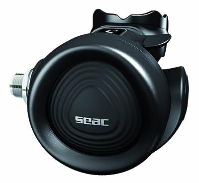 Seac X-5 230 Bar Din Diving Regulator (Black)