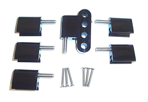 Taylor Cable 42705 Black Vertical Mounting Bracket for Clamp Style Wire Separators (Spark Plug Wire Mount compare prices)