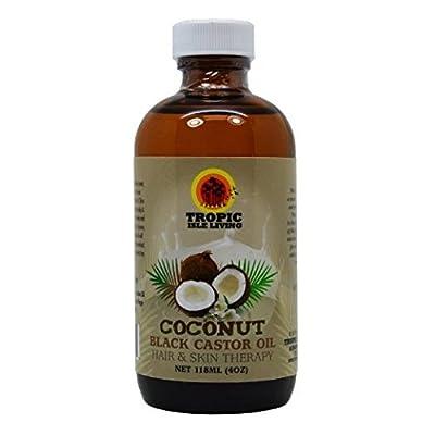 Tropic Isle Living Jamaican Coconut Black Castor Oil 4oz