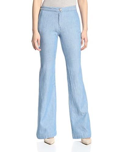3×1 Women's W3 Wide Leg Trouser Flare Jean