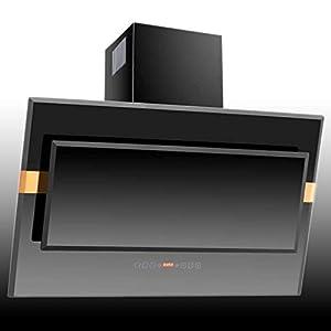 NEG Dunstabzugshaube KF919 (Umluft) kopffrei, Randabsaugung, Glas schwarz, 90cm, sehr leise, Motorleistung 800 m³/h  ElektroGroßgeräteKundenbewertung und Beschreibung