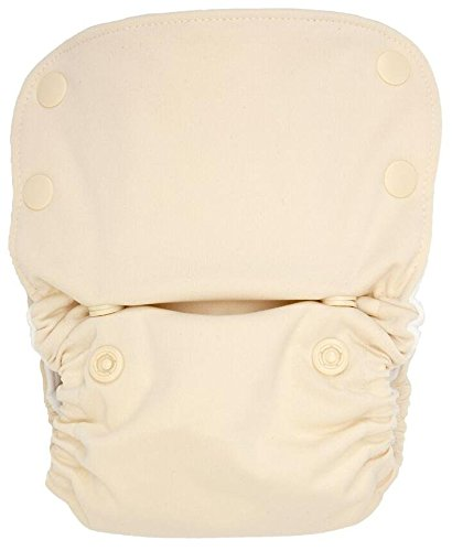 GroVia All In One Cloth Diaper - Vanilla - Newborn - Snap