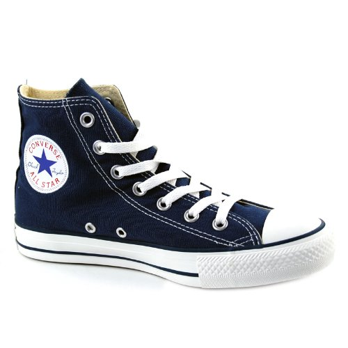 Converse Unisex All Star Hi's Basketball Shoes (Navy) 10