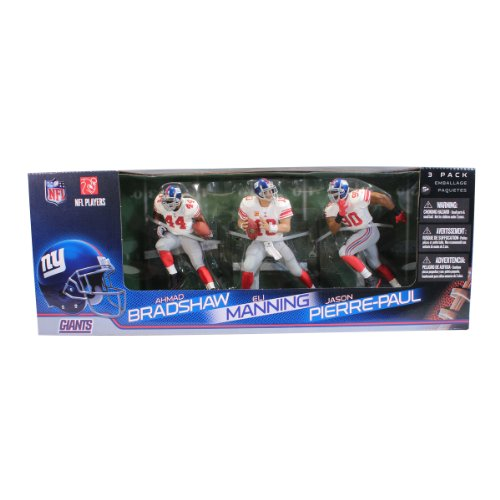 41nIiHckfFL Reviews McFarlane Toys NFL New York Giants 3 Pack    Eli Manning, Jason Pierre Paul and Ahmad Bradshaw Action Figures