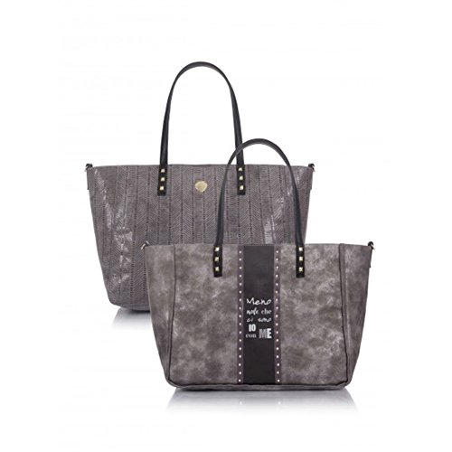 "Borsa Le Pandorine Reversible ""Me"" AI16DAY01954-03 grey"