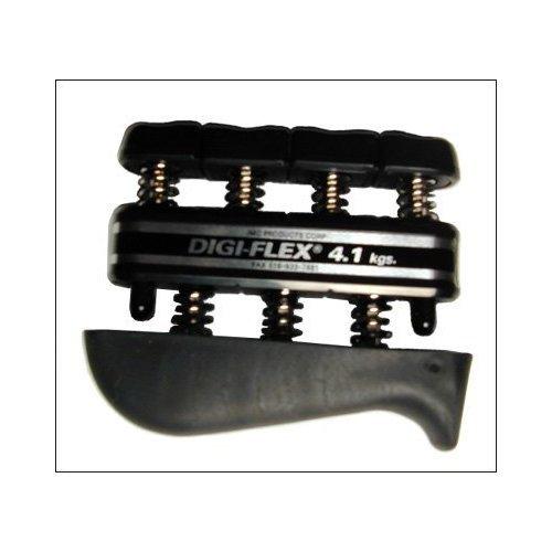 Black Digiflex Exercise & Rehabilitation System, 9 pounds resistance & FREE MINI TOOL BOX (fs)