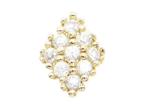 エムプティ ネイルパーツ ダイヤモチーフ A128 1個