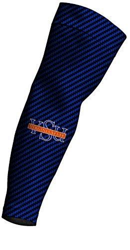 NCAA Virginia State Trojans Carbon Fiber Design Compression Arm Sleeve