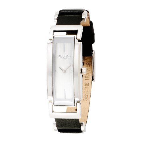 Kenneth Cole New York Women&#8217;s KC2492 Trend Black Leather Strap Watch