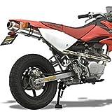 ヤマモト(YAMAMOTO) SPEC-Aマフラー XR100 SUS RS4-C 124cc専用 アルミ レース 10065-SA124