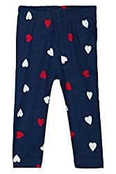 Chirpie Pie by Pantaloons Girl's Regular Fit Legging (205000005610439, Blue, 3-6 Months)