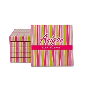 Anigan Feminine Hygiene Products Disposal Bags Purse Packs - 10 Packs (Newly Launched)