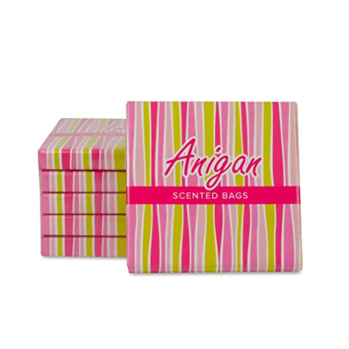 Anigan Feminine Disposal Bags Purse Packs - 10 Packs (Newly Launched)