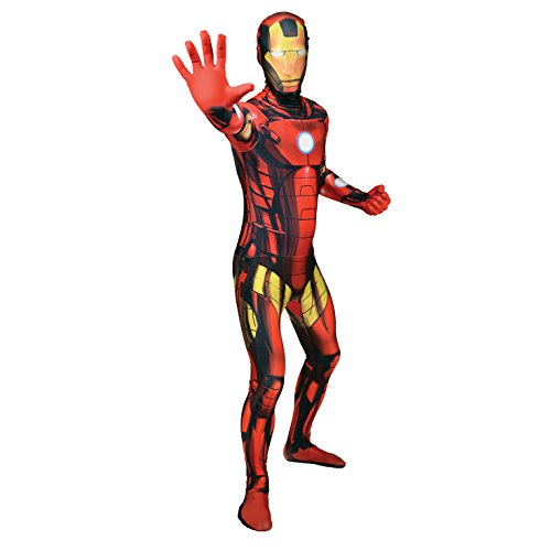Ironman Morphsuit Costume- Extra Extra large Fancy Dress