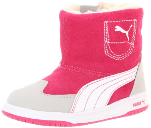 Puma Contest Boot  (Toddler/Little Kid),Magenta/White/Gray Violet,10 M US Toddler