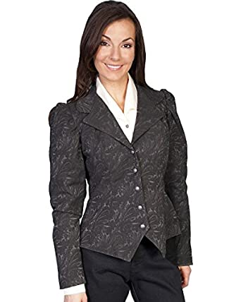 Wahmaker By Scully Womens Old West Jacquard Tapestry Jacket  AT vintagedancer.com