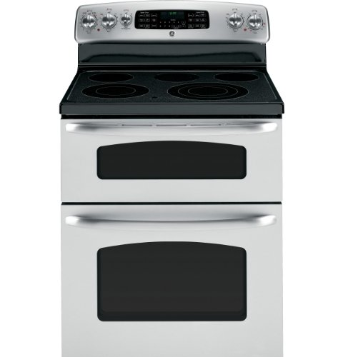 ge jb850stss 30 stainless steel electric smoothtop double oven range