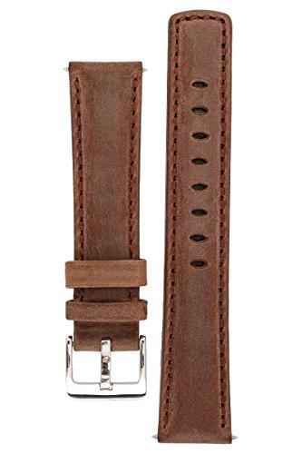 signature-traveller-montre-bande-sangle-de-montre-de-rechange-en-cuir-veritable-boucle-argent