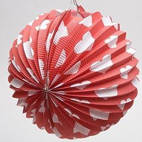 valentines paper ballon