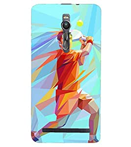 PRINTSHOPPII GAME TENNIS Back Case Cover for Asus Zenfone 2 ZE551ML::Asus Znfone 2 ZE550ML