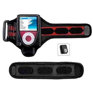 for iPod nano 3G and Nike Plus (Black) : MP3 Players & Accessories