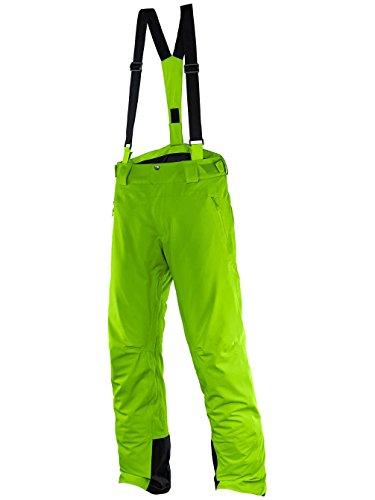 Salomon Iceglory M - Pantaloni de esqui da uomo, colore Verde, taglia XL / R