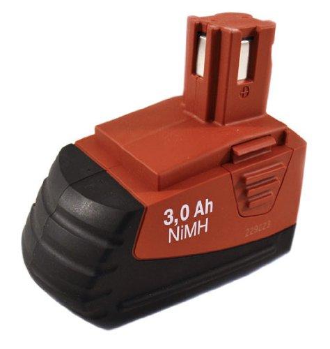5* Hilti SFB126 #340889 12 Volt 3 0 ah NiMH Battery SFB 126