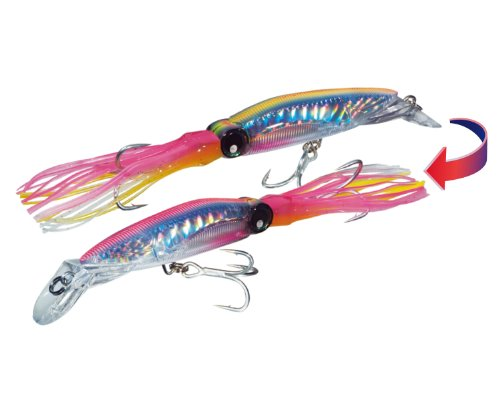 yo-zuri-sashimi-3d-squirt-lure-chameleon-hot-pink-7-1-2-inch-japan-import
