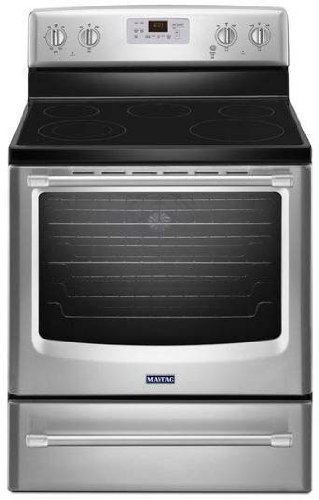 maytag-mer8700ds-30-stainless-steel-electric-smoothtop-range-convection