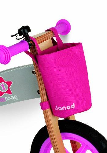 Imagen principal de Janod 4503241 - Bicicleta sin pedales en madera de color rosa [Importado de Alemania]