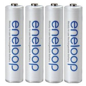 16 Pack Sanyo New 1500 Eneloop AAA 800 Mah Low Discharge Batteries Sixteen Battery Bundle with Two Free Battery Holders