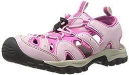 Northside Burke II Ankle-Strap Sandal (Toddler/Little Kid/Big Kid), Pink/Fuchsia, 8 M US Toddler