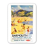 Barmouth North Wales for Mountain, Sand and Sea - Mouse Mat - Highest Quality Natural Rubber