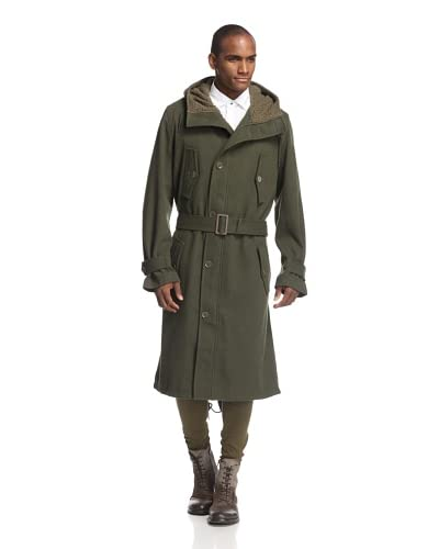 adidas Y-3 by Yohji Yamamoto Men's Cavtwill Coat