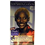 SoftSheen Carson Dark and Lovely Reviving Colors Semi-Permanent Haircolor, Luminous Blonde 396 - kit