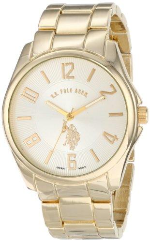 U.S. Polo Assn. Classic Men'S Usc80215 Analog-Quartz Gold Watch