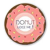 Seven Rays Donut judge Me Fridge Magnet