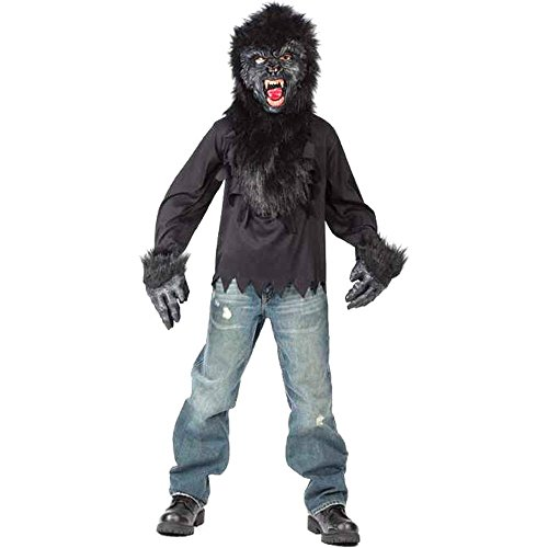 Kid's Easy Gorilla Costume (Size:Large 12-14)