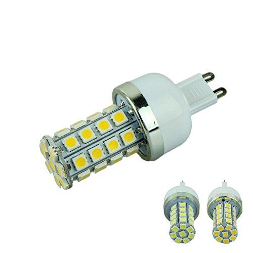 Voberry Dimmable G9 Base 7W 36 5050 Smd Led Corn Light Bulb Lamp Warm White 110V(Warmwhite-110V)